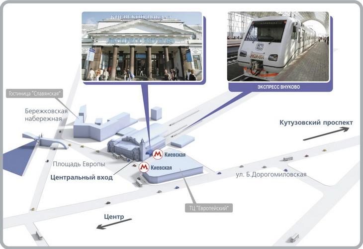 Внуково - Киевский вокзал